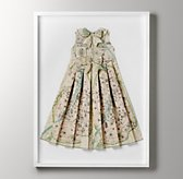 Hand-Folded Vintage Map Dress - Petite Paris
