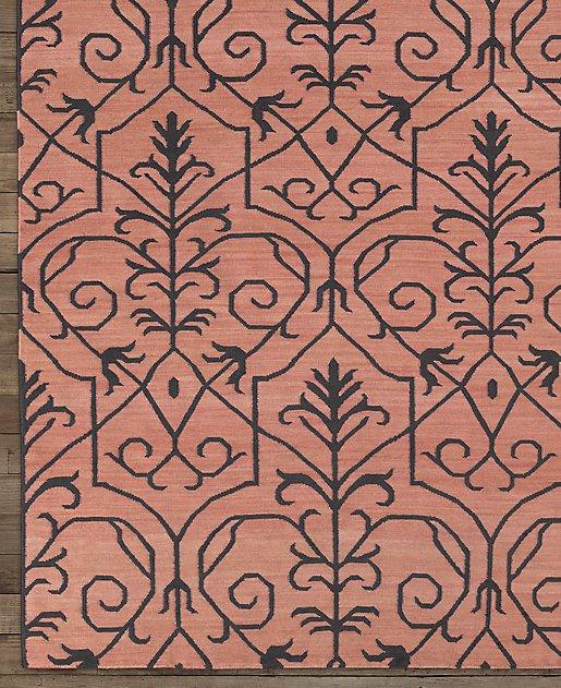 Jardin wool silk rug for Jardin woolens