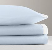 Italian Washed Sateen Bordered Sheet Set