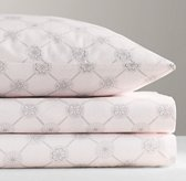 Floral Medallion Sateen Sheet Set