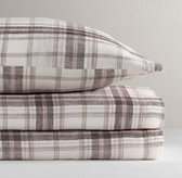 Washed Windowpane Plaid Sheet Set