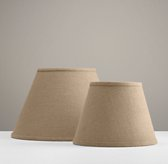 Solid English Barrel Shade - Burlap