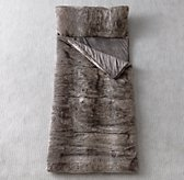 Luxe Faux Fur Sleeping Bag - Wolf