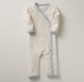 Organic Jersey Layette One Piece