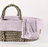 Cuddle Plush Moses Basket Bedding & Ash Basket