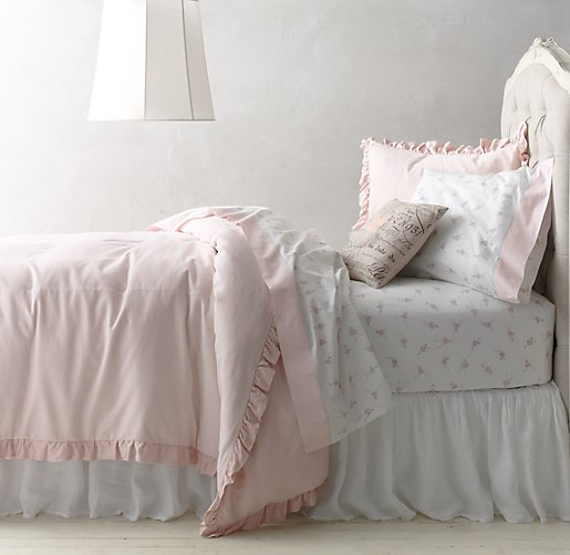 Washed Velvet Amp Vintage Ballerina Sateen Bedding Collection