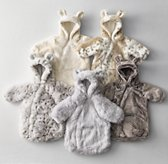 Luxe Faux Fur Baby Bunting