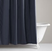 Tumble-Washed Twill Shower Curtain