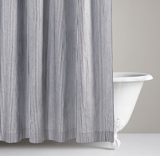 COLOR PREVIEW UNAVAILABLE. Henley Stripe Shower Curtain
