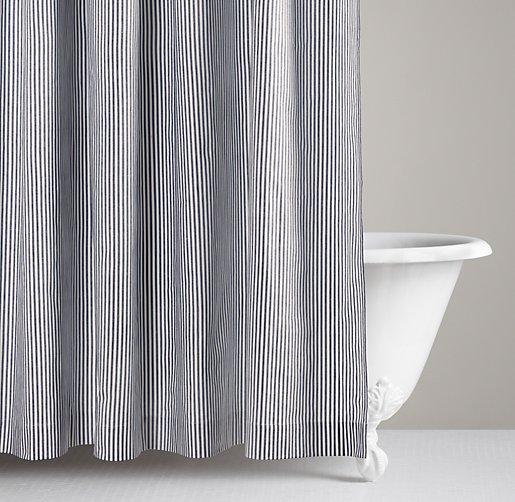 Henley Stripe Shower Curtain