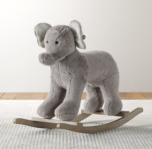 9b998ec2bc46 Cuddle Plush Animal Rocker - Elephant