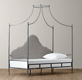 Allegra Iron Canopy Daybed