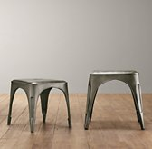 Vintage Steel Play Stool (Set of 2)