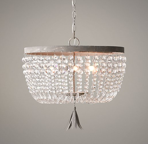 Dauphine Crystal Large Pendant From RH Baby And Child