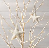 Wool Felt Star Ornament Set of 12