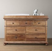 Jameson Wide Dresser & Topper Set