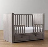 Haven Storage Panel Crib Toddler Bed Conversion Kit