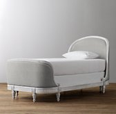 Belle Upholstered Bed - Antique Grey Mist