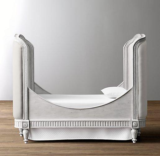 Belle Toddler Bed Conversion Kit Antique Grey Mist