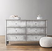 Ava Mirrored Wide Dresser