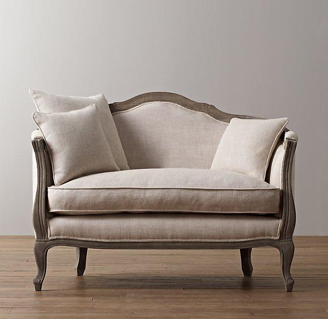 Cool 47 Ondine Upholstered Salon Bench Burnt Oak Frankydiablos Diy Chair Ideas Frankydiabloscom