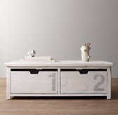 Mason Activity Table - White
