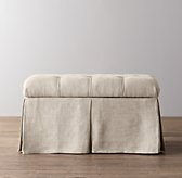 Classic Tufted Upholstered Storage Bench