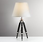 Surveyor's Table Lamp Base - Black
