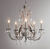 Palais Large Chandelier Aged Metal
