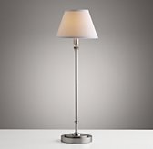 Ellis Table Lamp With Shade - Antique Pewter