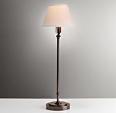 Ellis Table Lamp With Shade - Chestnut