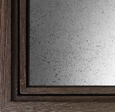 Wood Swatch - Weathered Grey With Mirror