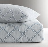 Rope Lattice Print Duvet Cover