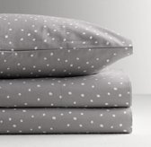 Dotted Percale Crib Fitted Sheet