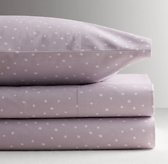 Dotted Percale Sheet Set