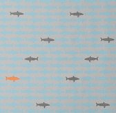 Sharks Bedding Swatch