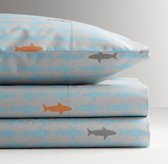 Sharks Standard Pillowcase