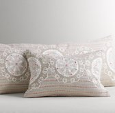 Talia Medallion Decorative Pillow Cover & Insert