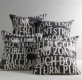 Sports Talk Decorative Pillow Cover