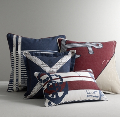 Nautical Decorative Pillow Cover
