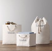 Solid Canvas Storage - Natural