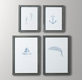 Weathered Art Frames - Grey