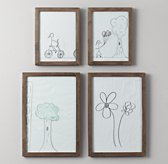 Weathered Art Frames - Natural