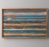 Reclaimed Boat Wood Art