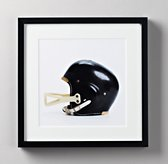 Vintage Sports Gear Photography - Football Helmet