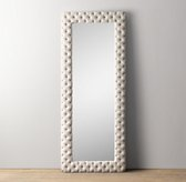 Chesterfield Tufted Extra-Large Leaner Mirror