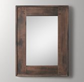 Salvaged Boatwood Dresser Mirror