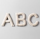 Crocheted Letter