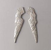 Small Pewter Angel Wings