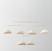 Wool Felt Cloud Mobile